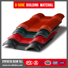 Flexible Excellent weather resistant 25 years guarantee spanish resin roofing tiles manufacturing for roof