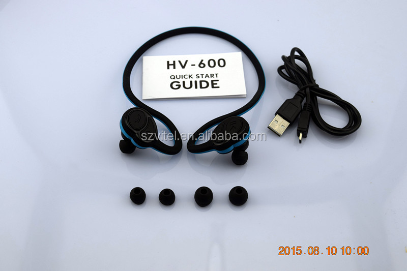 CSR8645 Aptx High End Neckband Sport Wireless Headset HV-600