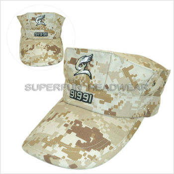 hot sale digital camouflage pattern military navy caps