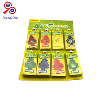 Internet Factory Cheap Wholesale Promotion Custom hanging Paper Car Air Freshener For Car
