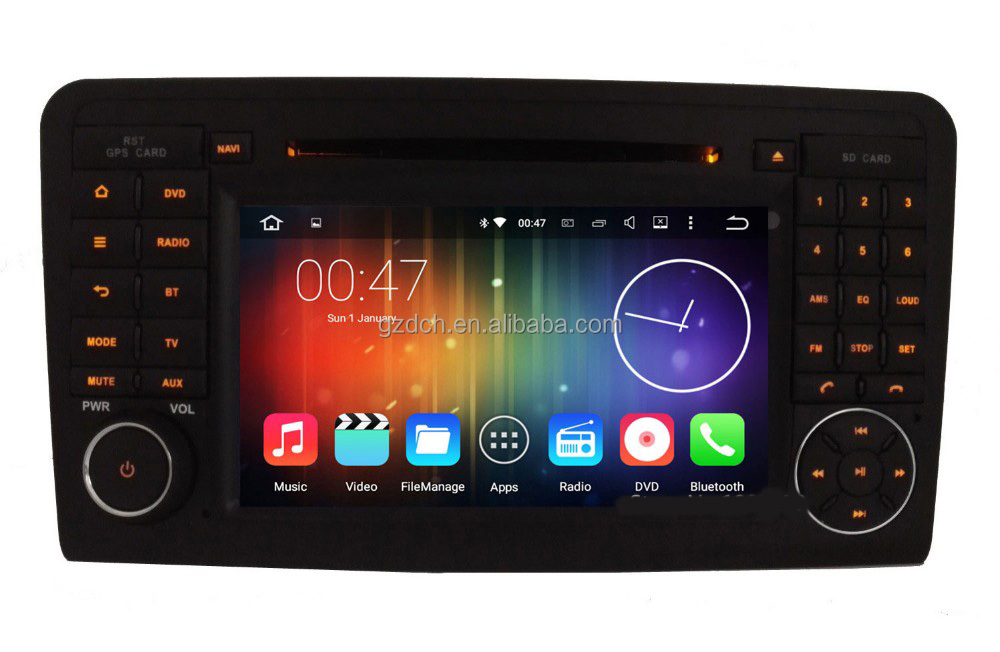 5.1.1 android car dvd player for Ben-z MERCEDES ML/ GL CLASS <strong>W164</strong> ML/GL320/GL350/GL420/GL450G/L500 quad core 1G+16G WS-8823