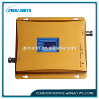 TSJ0015 900mhz gsm dcs wcdma tri-band mobile signal booster dual band cell phone signal booster phone repeater booster