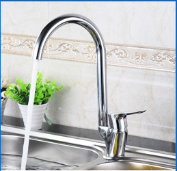 New style cheap polish brass single handle bathroom basin faucet