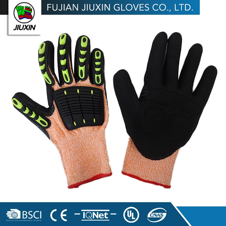 Colorful Wholesale Safety Knitted Craft Summer Driving Gloves