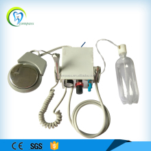 Stainless steel cover type portable dental turbine/portable dental unit