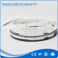 led strip light CE ROHS UL 30pcs SMD 5050 IP66 Blue ultra thin led strip