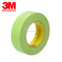3m bright green crepe masking tape 233 +