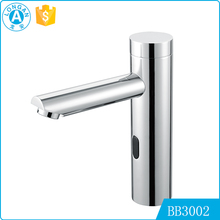 high quality lavatory automatic sensor electrical water wash hand bathroom basin faucet