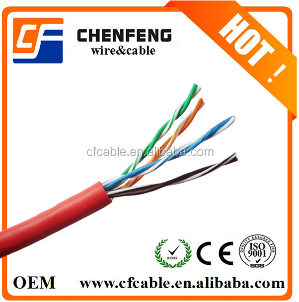 Network Cable 4 pair 8 cores UTP CAT5e Cable 8P8C PATCH CABLE