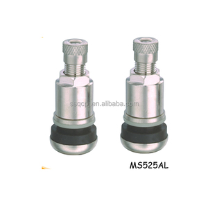 Aluminum Tire Valves MS525AL Tubeless Metal Clamp In Valves