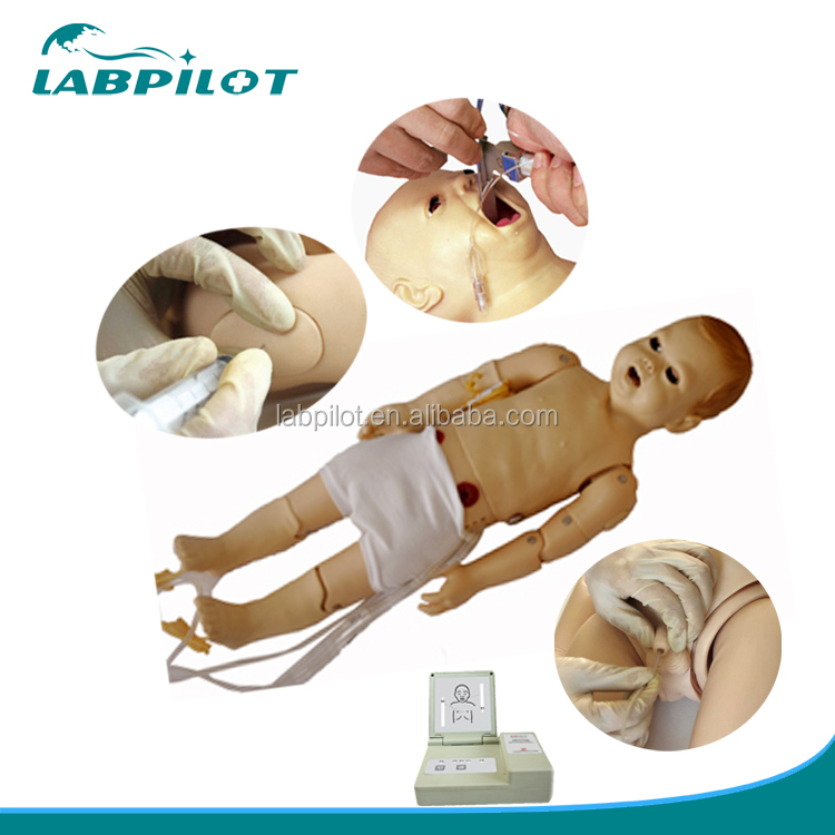 Advanced Infant Nursing Dummy with Auscultation and CPR Training