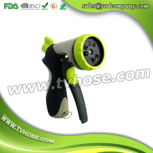 Free shipping high quality 8-way water mist nozzle hot sale hose nozzle 8-ways water gun