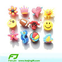 Soft PVC Charms Plastic Shoes Decorations Pins
