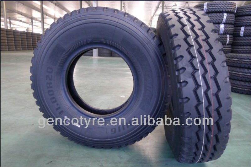 18PR 1000R20 radial truck and bus tires for sale