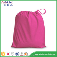 2017 fashion hot sell China cheapest customized wholesale cotton fabric drawstring bag