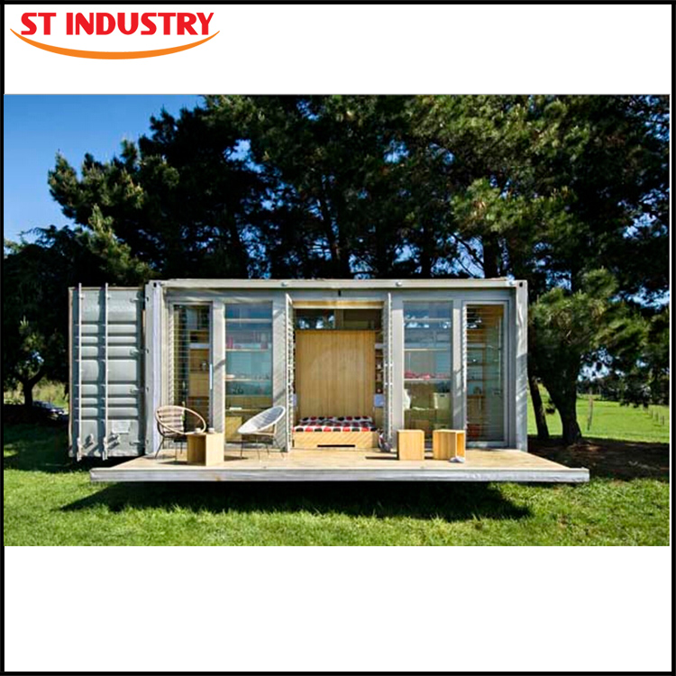 Low Cost living 20ft prefabricated pre-made container house in south africa