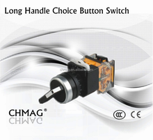 22mm choice button switch 2P 3P from lock type ON-OFF 6-380V Switch