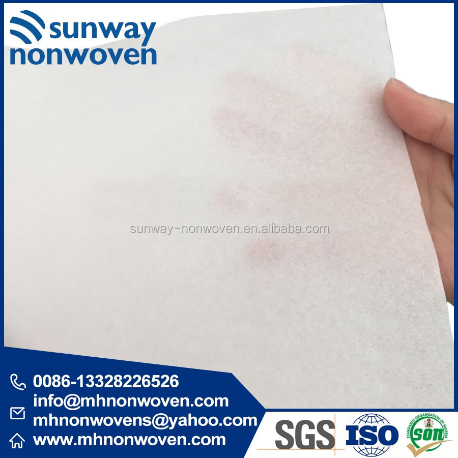 2016F Polyester Non Woven Lining for Tailoring Materials