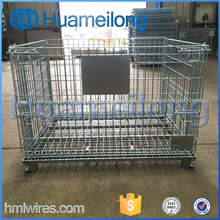 Underground Large Metal Storage Wire Mesh Containers For Warehouse