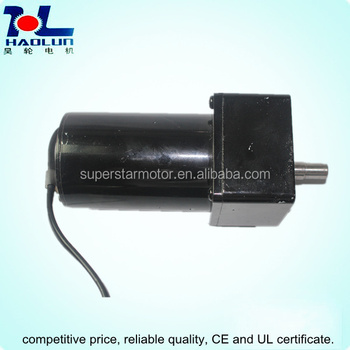 140w ac small gear motors electric magnetic brake motor for Small geared electric motors
