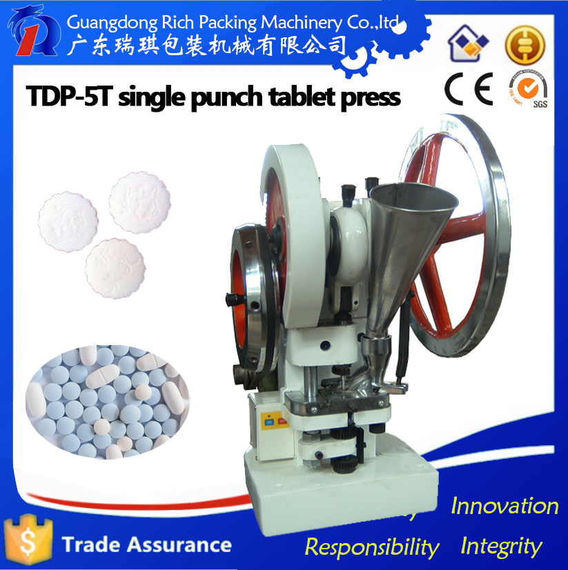 Single punch camphor press machine/ tablet making machine