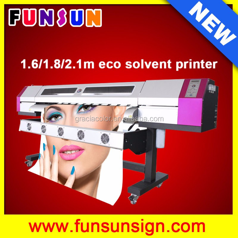 Large format vinyl plotter with DX5 head 1.6m galaxy UD161LC eco solvent printer 1440dpi