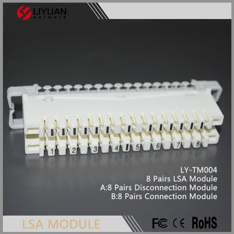 LY-TM004 8 Pairs LSA Disconnection/connection Module (Krone Module)