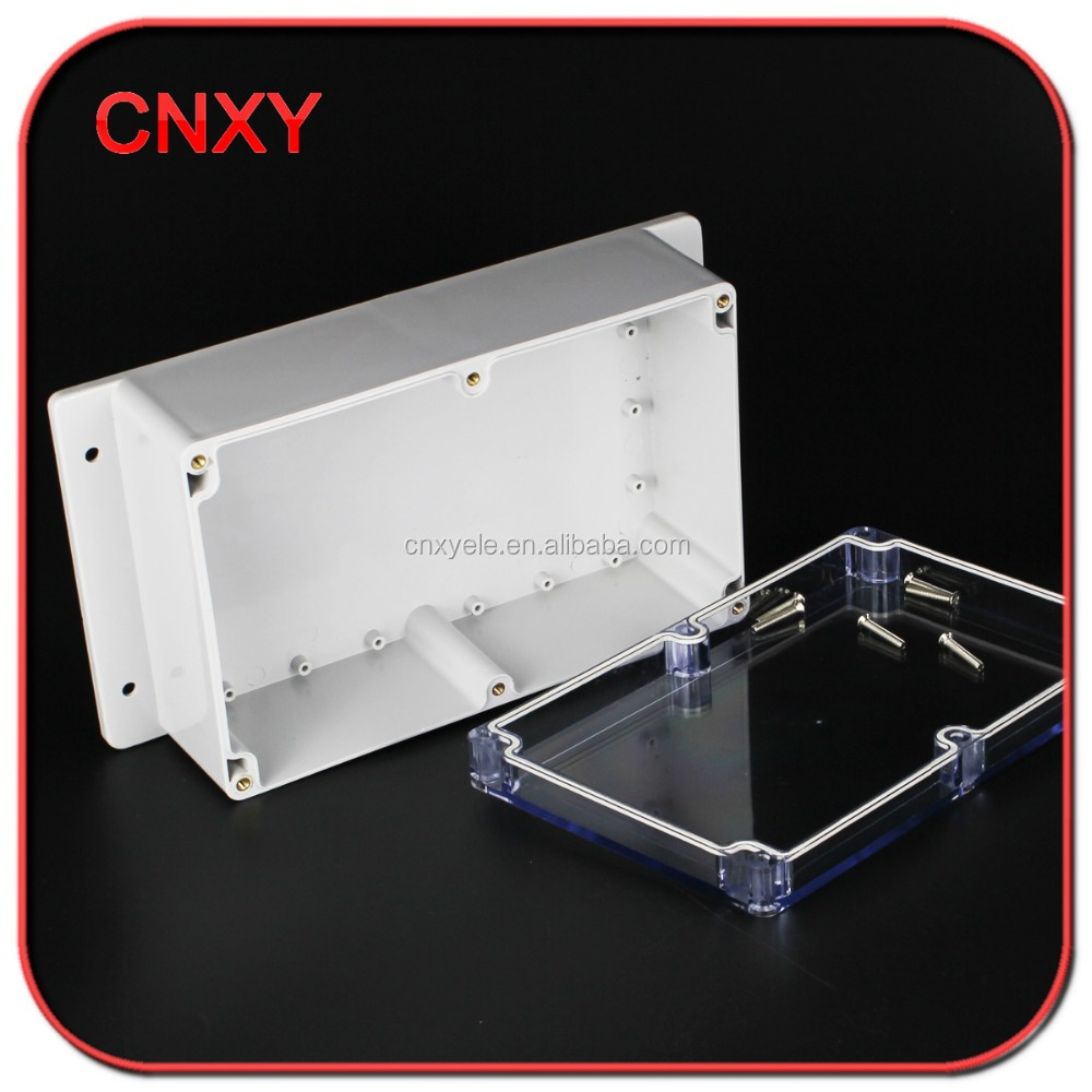 CNXY transparent ABS enclosure waterproof plastic special box with ear IP65