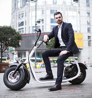 High quality popular city/0ff road scooter 19inch wheel Cool 72V 1500W street legal electric scooters/electric motorcycle for ad