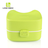 wholesale Japanese 3 compartment bento lunch box containers