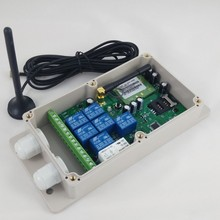 GSM SMS wireless controller ( QUAD band,Big power,seven channel output)