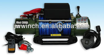 12v/24v off road winch Jinwei winch
