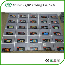 Game Card Cartridges For Super Nintendo for SFC SNES NTSC System English Version
