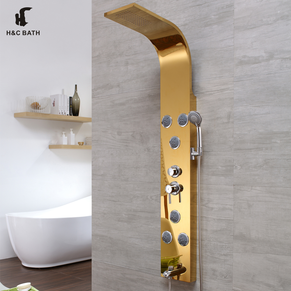 Stainless steel decorative panels bath shower