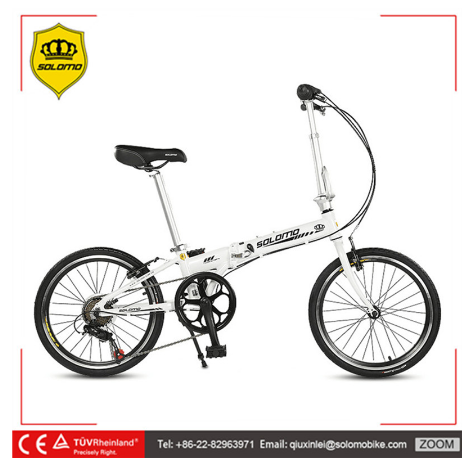 SOLOMO P8 20 Inches Aluminum Alloy Mini <strong>Folding</strong> Bike 6 Speed