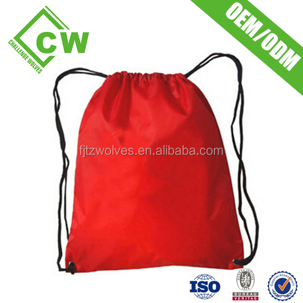 good quality nylon drawstring bag with cord