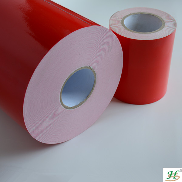 Low price double side self adhesive PE foam tape