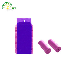 Factory Direct High Quality colorful d2w dog waste bag in dispenser very hot sale products
