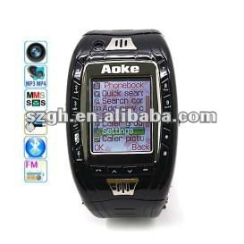 2012 hottest Sport design watch mobile phone AK11
