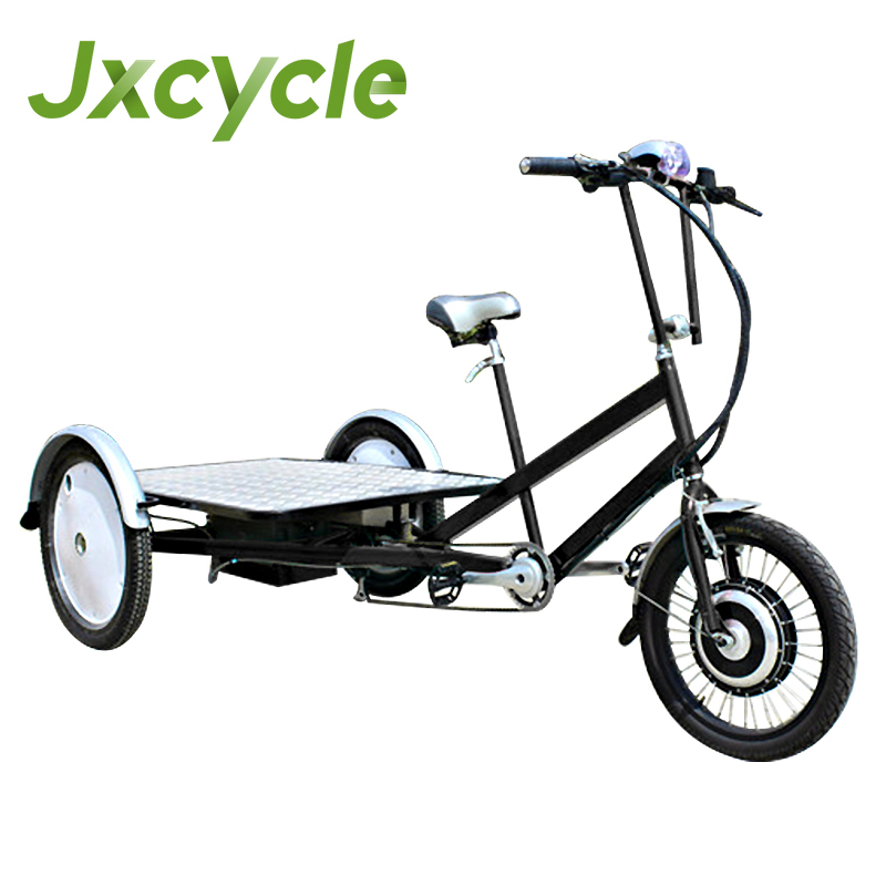 Electric three wheel cargo trike