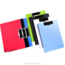 manufacturer custom made plastic a3 folding clipboard with high quality