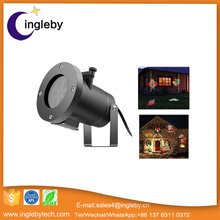 powered led portable projector CE approved fake flame light