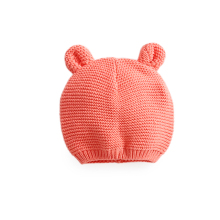 Wholesale Baby Cartoon Skullies Caps Cotton Knitted Ear Beanie Bonnet For Baby Girls And Boys Autumn Winter Infant Hats