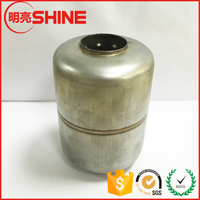 unpolishing 201/304 stainless steel hollow mangnetic float decorative sphere