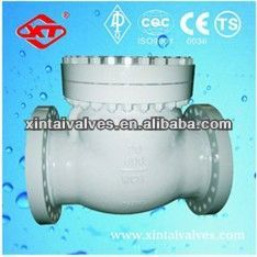 Burly casting steel wafer check valve pneumatic butterfly valve