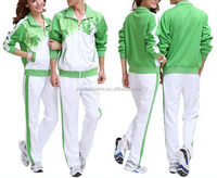 Fashionable hot selling velour tracksuits men