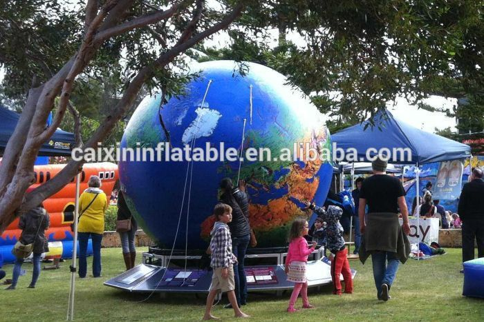 giant inflatable earth, inflatable globe, inflatable world map ball for sale