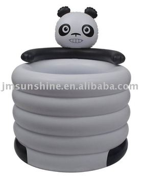 pvc inflatable mini outdoor animal swimming pool