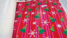 Decorative gift wrapping printing paper with x-mas design