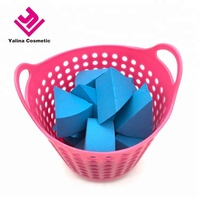 Factory Direct Cheap price disposable wedge cosmetic sponge for BB cream free samples